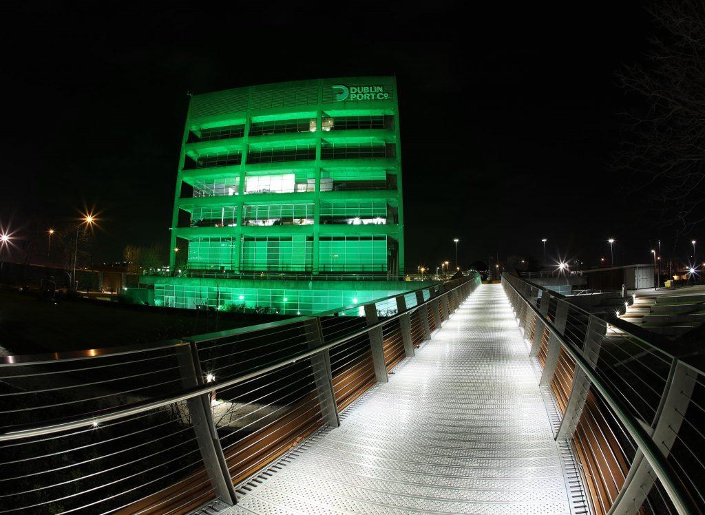 dublin port goes green