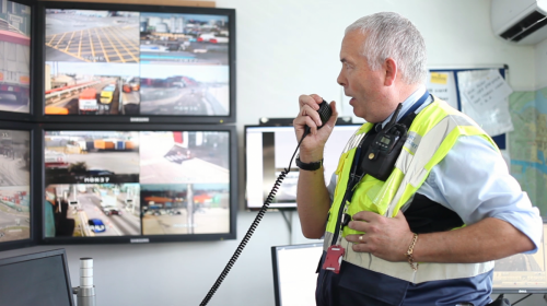 Harbour Police Port Security Control