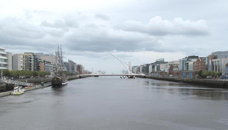 dublin port at the heart of the city
