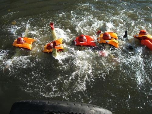 PST (Personal Survival Training) Sea Survival